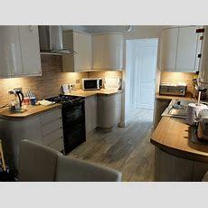Garage Conversion Into Kitchen, Utility & Shower Room