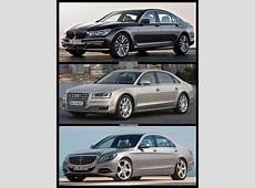 Photo Comparison 2016 BMW 7 Series vs Mercedes SClass
