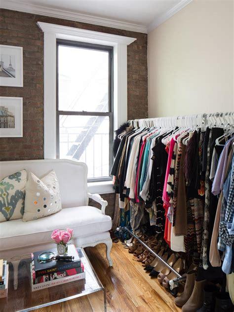 Bedroom Clothes Closet by 12 No Closet Clothes Storage Ideas Room Makeovers To