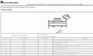 2003 Chevy Suburban Radio Wiring Diagram Bose