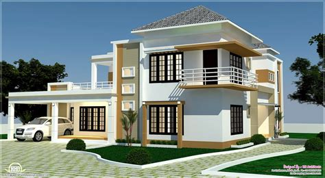 contemporary floor plans 3d home plan and elevation floor andelevation kerala 2017