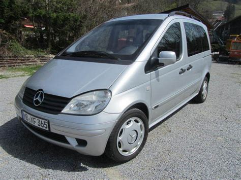 Mercedes-benz Vaneo Cdi 1.7 Family Car From Germany For
