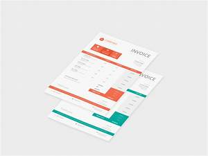company invoice template free psd download download psd With invoice mockup psd free