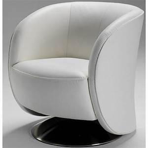 C Discount Fauteuil : fauteuil cabriolet pivotant cuir ~ Teatrodelosmanantiales.com Idées de Décoration