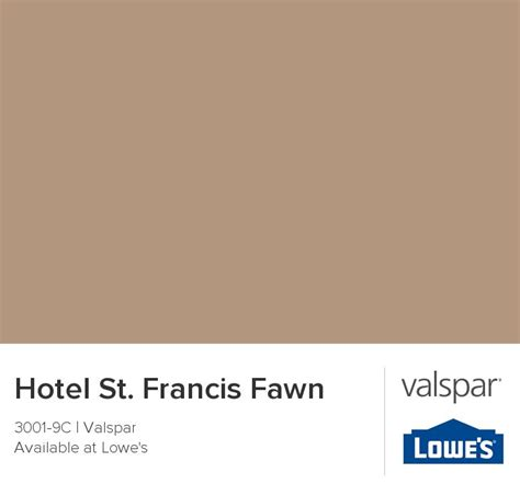 hotel st francis fawn from valspar bedroom ideas