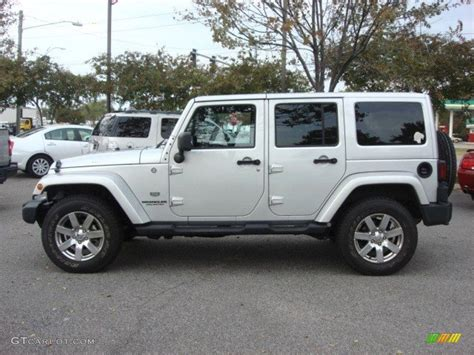 jeep sahara silver bright silver metallic 2011 jeep wrangler unlimited sahara