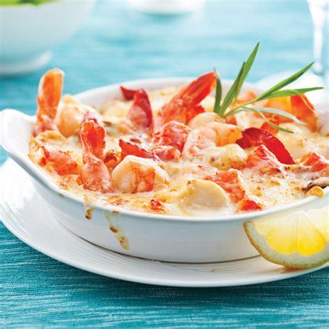 cuisine recettes pratiques recette cuisine facile gratin fruits mer un site