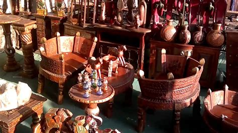 handcrafted wood furniture rajasthan youtube