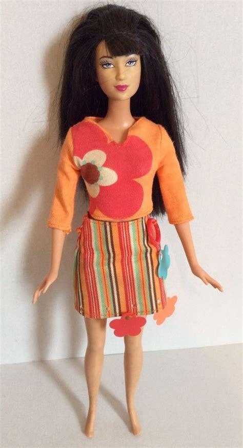 barbie indonesia mattel  body  head brunette doll