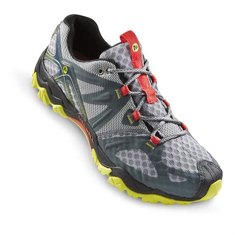 orange mens shoes merrell 39 s grassbow air hiking shoes 640112 running