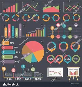 Business Infographic Elements Collection  Set Of Different