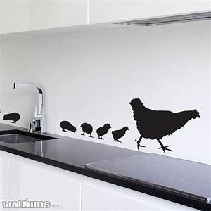 family of chicks wall decal sticker With wallums wall decals