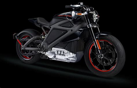 Check Out Harley-davidson's First Electric Motorcycle