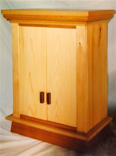 Prayer Cabinet buddhist prayer cabinet mystic wood and paint