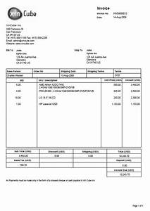 Delivery invoice template free invoice template for Delivery invoice template