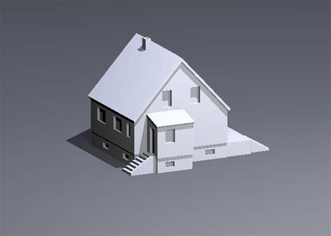 plan cuisine design maison maquette imprimable en 3d modèle stl