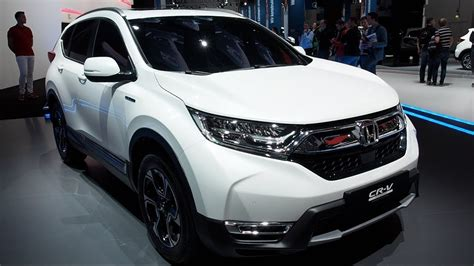 The All New Honda Cr-v Hybrid Prototype 2018 In Detail