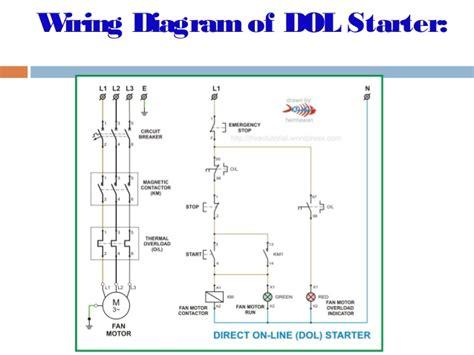 wiring diagram for dol starter somurich