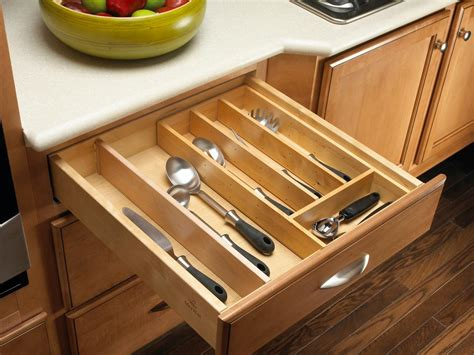 custom kitchen drawer organizers pantry organizers pictures options tips ideas hgtv 6385