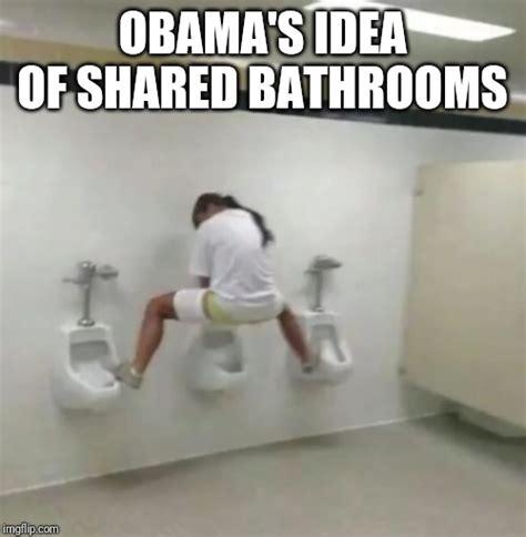 Bathroom Meme by Image Tagged In Transgender Bathroom Imgflip