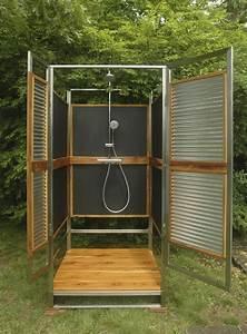 Gartendusche Mit Sichtschutz : gartendusche sichtschutz ideen f r die outdoor dusche gesucht ~ Sanjose-hotels-ca.com Haus und Dekorationen