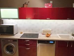 deco led eclairage idees deco pour les cuisines With eclairage cuisine plan de travail