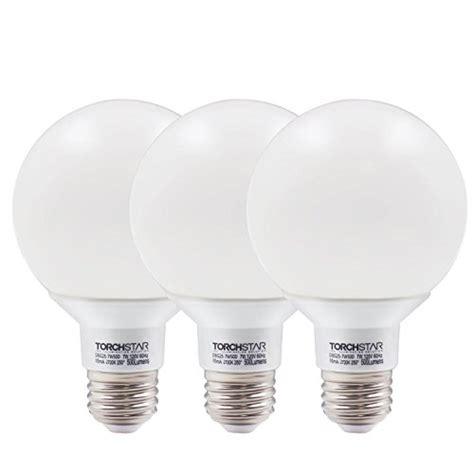 Bathroom Globe Light Bulbs by G25 Globe Led Bulb Dimmable 7w 60w Equiv Vanity Style