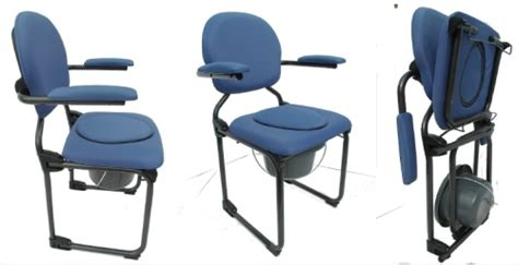 montauban siège percé chaise garde robe pliante