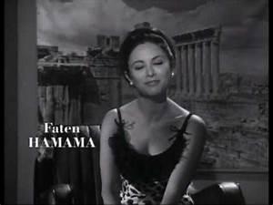 Faten Hamama - Interview (1963) - YouTube  Faten