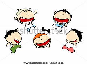 Funny kids #79 - cute small mischievous boys (raster ...
