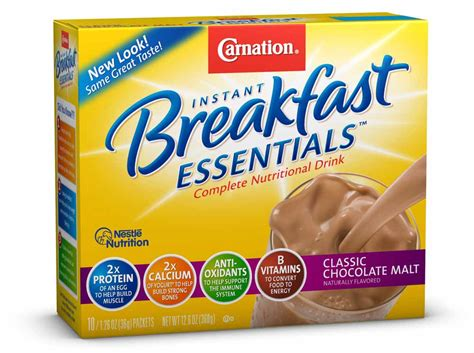 Amazon.com : Carnation Breakfast Essentials, Classic