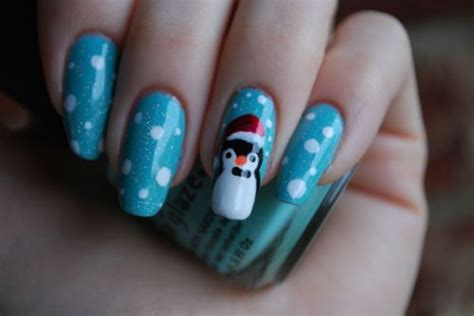 Winter Penguin Nail Art Pictures, Photos, And Images For