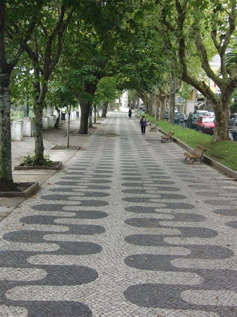 pictures of sidewalks portuguese pavement sidewalk city