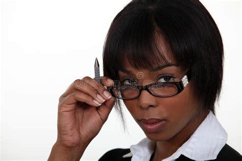 Seductive Secretary Stock Image Image Of Office Lady