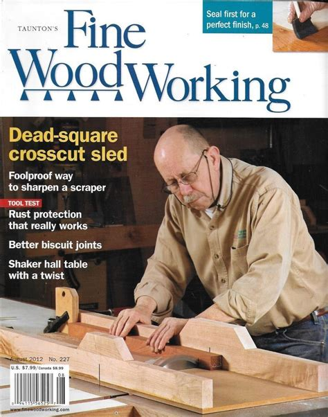 fine woodworking magazine crosscut sled perfect seal