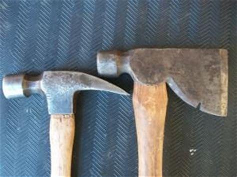 hammer  rigging axe tools   trade hand tools