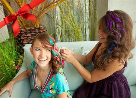 wear colorful clip  hair extension goodyardhair