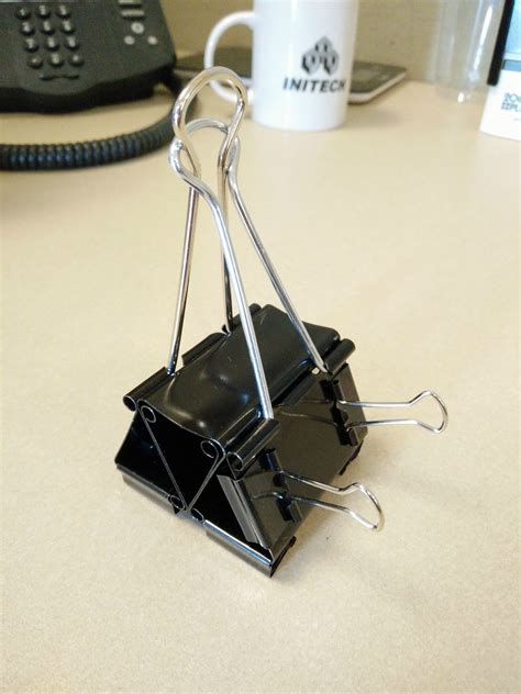cell phone stands diy binder clip cell phone stand with room for usb
