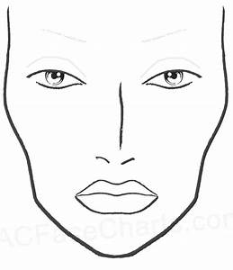Blank Mac Face Charts Printable In 2019