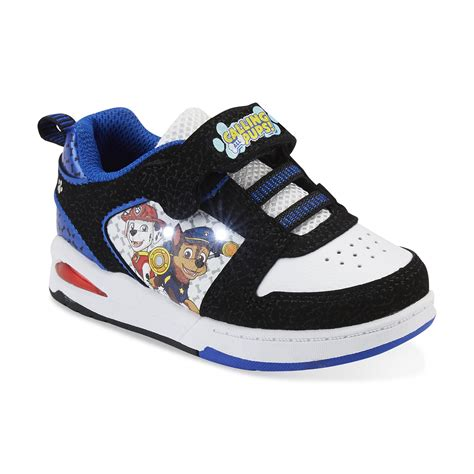 baby light up shoes nickelodeon boy 39 s paw patrol black white blue