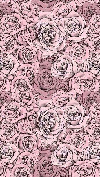 tumblr iphone pink roses drawing wallpaper roses drawing