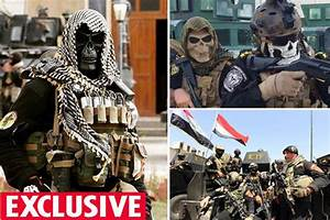 Golden Division: Iraqi special forces wearing skull-masks ...