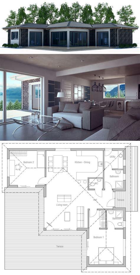 Kleines Einfamilienhaus Grundriss by Kleines Modernes Haus Grundriss Myappsforpc Org