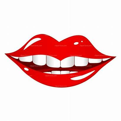 Clip Clipart Lips Mouth Lip Smiling Vector