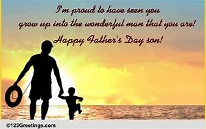 Father's Day For Your Son Cards, Free Father's Day For ...