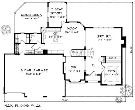 4 Beds 2.5 Baths 2838 Sq/ft Plan #70-450 Apartment Bathroom Decor Cover Letter For Oakwood California Apartments Art Therapy Closet Edgewater Miami Oura Albufeira Downtown Charlotte Nc