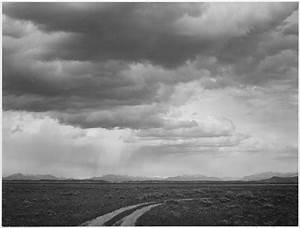 FileRoadway Low Horizon Mountains Clouded Sky QuotNear Grand Teton National Parkquot 1933