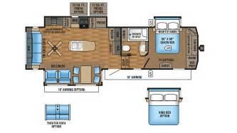 Jayco Fifth Wheel Floor Plans 2017 by 2017 Jayco Eagle 321rsts 5th Wheel Floor Plan