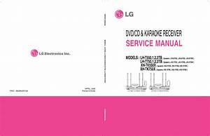 Lg Lh T550 Lh T750 Xh Tk550x Xh Tk 750x