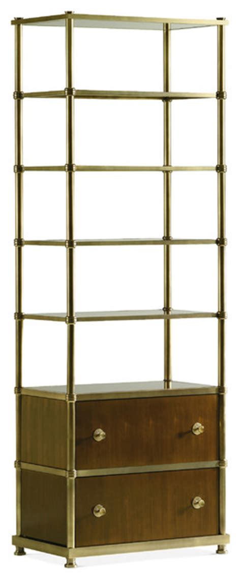 Contemporary Etagere by Frazier Etagere Contemporary Bathroom Cabinets And
